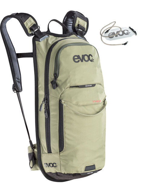EVOC Stage Backpack 6l + Bladder 2l light olive